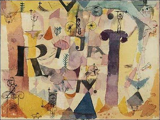 Paul trébol: Stylish ruina detalle marcos de cuña-imagen lienzo lienzo lienzo abstracto clásico 1ab9e3
