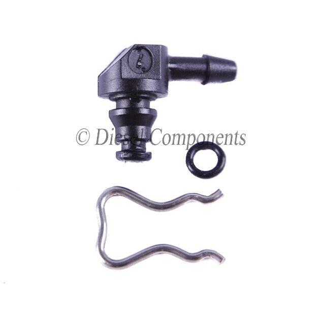 Diesel Injector Brass Leak Off Connector Kit 5 Cylinder for Audi