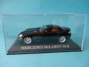 MERCEDES-SLR-MCLAREN-BLACK-NEGRO-1-43-NEW-NUEVO-IXO-ALTAYA-DREAM-CARS