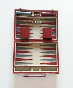 Juego / Maletín Backgammon - Annes Carlton ¡¡Completo!! (Juego de Mesa)