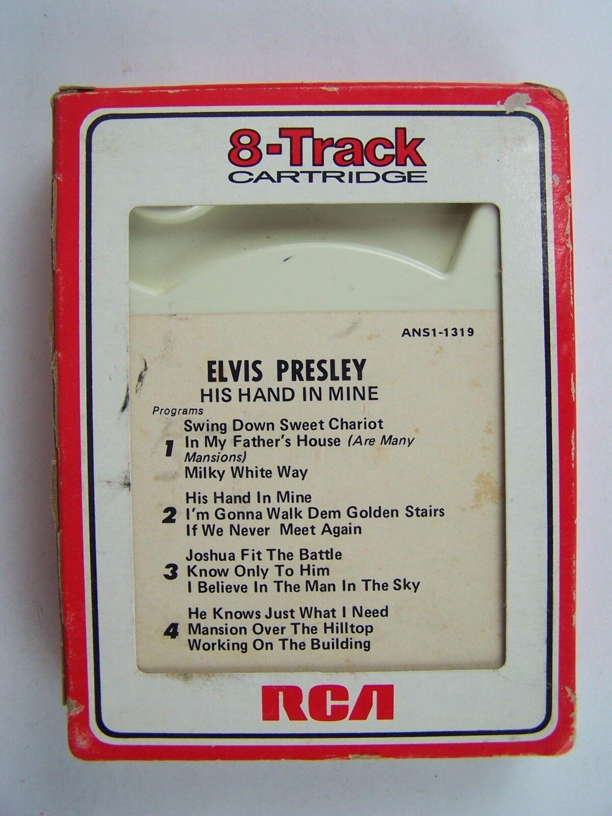 Elvis Presley - His Hand In Mine 8 Track LP Album ANS1-