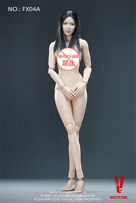 VERYCOOL 1//6 Female Head /& Body FX04A Half-Encapsulated Action Figure Toy