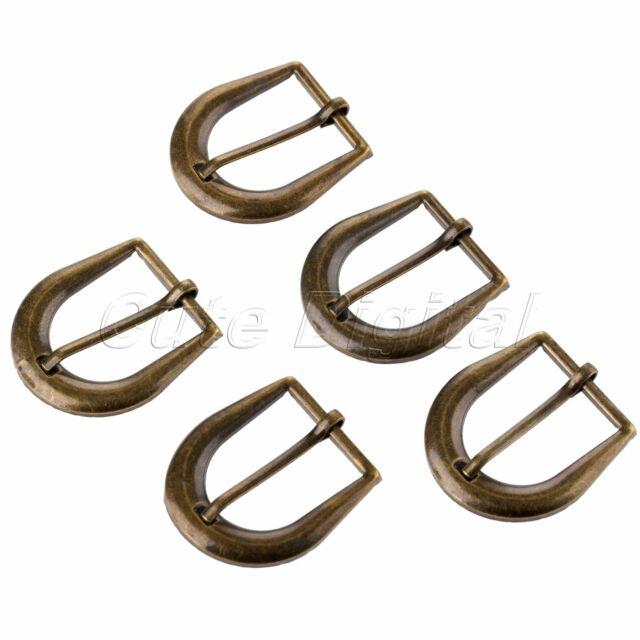 42*32mm Vintage Bronze Belt Strap Leather Craft Antique Belt Buckles Hardware