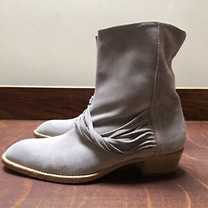 newest dea67 2c3b1 Details about LLOYD of Germany Size 5 Grey Suede Ankle Boots BNWOT