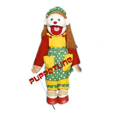 "PROFESSIONAL 28"" MINISTRY  FULL BODY PUPPETS GIRL CLOWN VENTRILOQUIST"