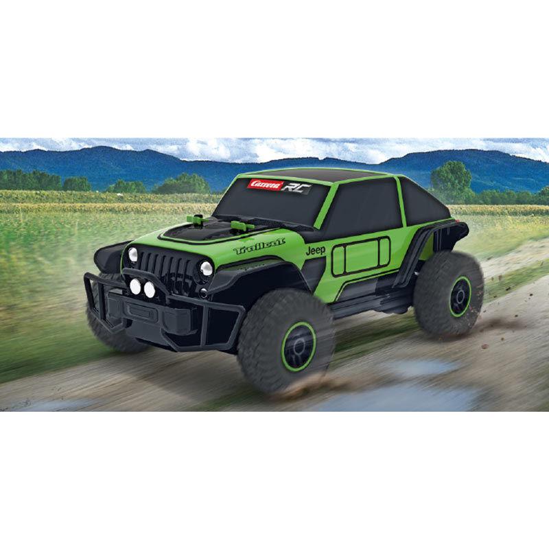 CocheRERA RC 1 18 Jeep Trailcat 2.4GHz coche listo para correr 184001