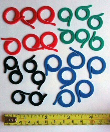 PACK OF 24 SPLIT RING KNITTING STITCH MARKERS