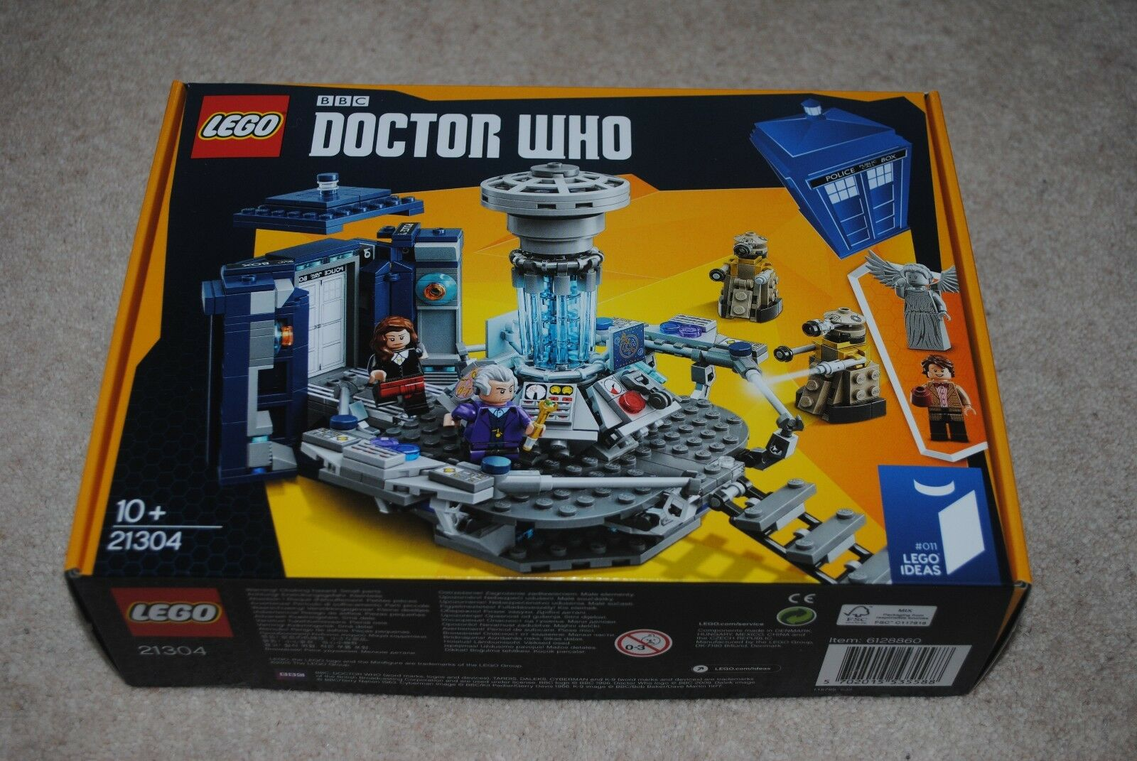 Lego Ideas Doctor Who 21304 RETIRED SEALED BRAND NEW SEALED BOX