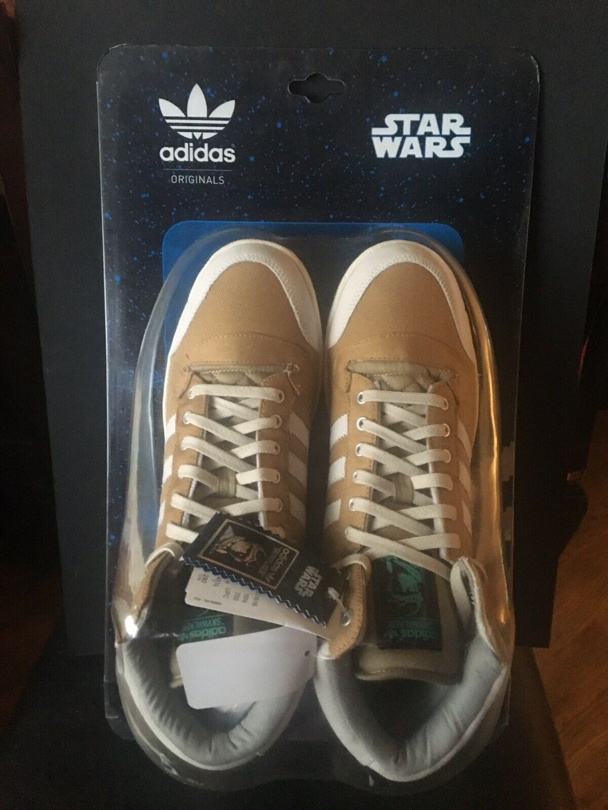 ADIDAS ORIGINALS STAR WARS HOTH LUKE SKYWALKER shoes Han Solo Vader US 10.5