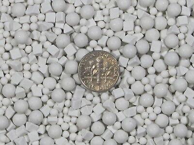 Ceramic Tumbling Media Mixed 1 Lb 3 mm /& 6 mm Polishing Sphere Non-Abrasive