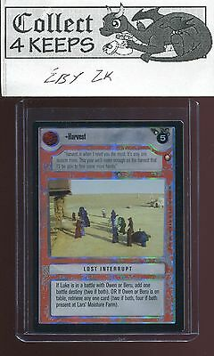 Star Wars CCG Reflections III 3 Harvest Foil SRF SWCCG