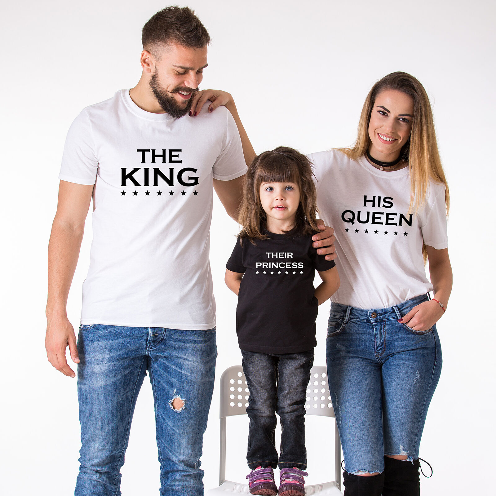 The King His Queen Their Prince Their Princess Family