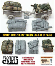 1/35 Scale Mirror Models Trailer loads #1 (2 pack) from Valuegear