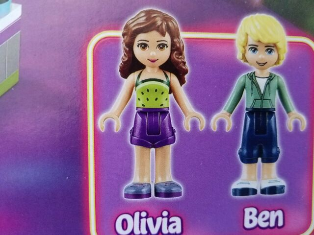 Lego Friends Minifigure Figure As Shown In Picture 100/% Lego USA Seller  FR#4