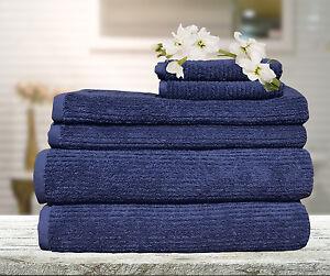 Egyptian-Cotton-Ribbon-Towel-Set-Bath-Hand-Towel-Sheet-Face-Washer-Mat-Glove
