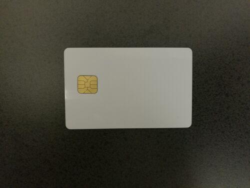 Atmel AT24C64D Blank PVC Card 10pcs High Quality .30 Mil Smart Card