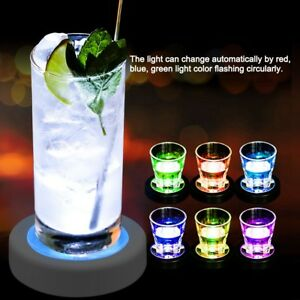 LED-Coasters-USB-Rechargeable-Color-Change-Light-Up-Drink-Cup-Mat-Tableware-Club