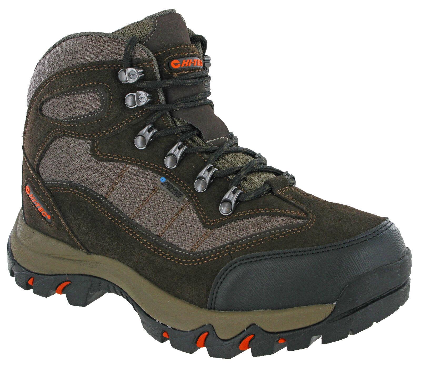 Hi-Tec Mens Walking Boots Waterproof Skamania Mesh Hiking Trail Lace   save 35% - 70% off