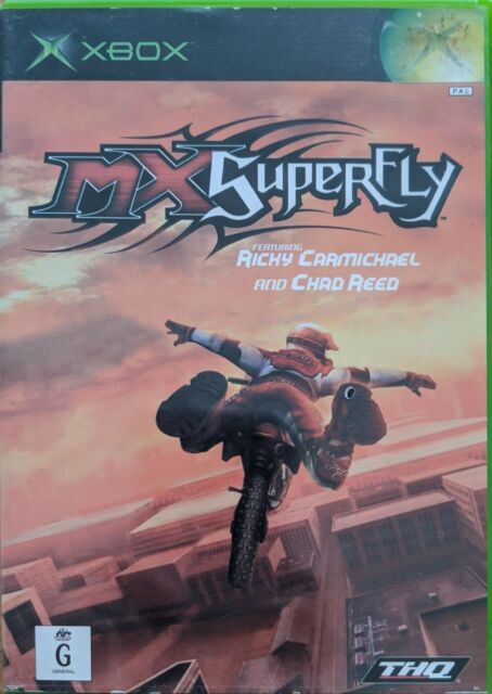 XBOX Game MX Superfly Featuring Ricky Carmichael and Chad Reed