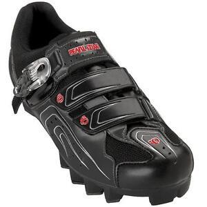 Pearl-Izumi-Race-MTB-Mountain-Bike-Shoes-Black-41