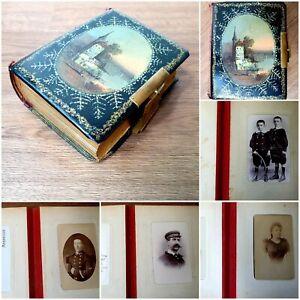 album photos anciennes époque Napoléon III albumine de famille Marseillaise