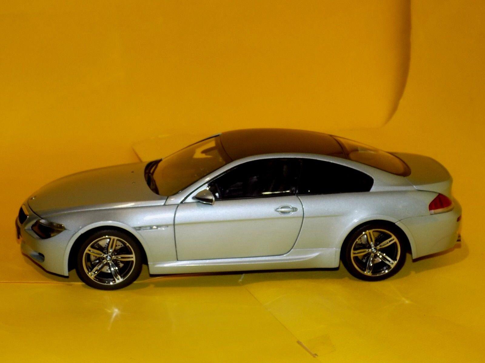 BMW 6 SERIES M6 COUPE E63 2005 KYOSHO 08703S 1:18