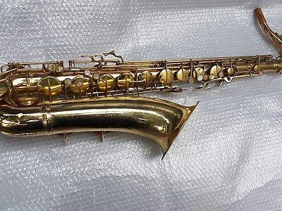 100% QualitäT 1946 Conn 10 M Naked Lady Tenor Sax / Saxophone - Made In Usa Und Verdauung Hilft