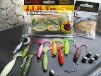 Ready To Fish Set (30pcs) -lucky John-scorpion Offset-jig Heads cheburashka