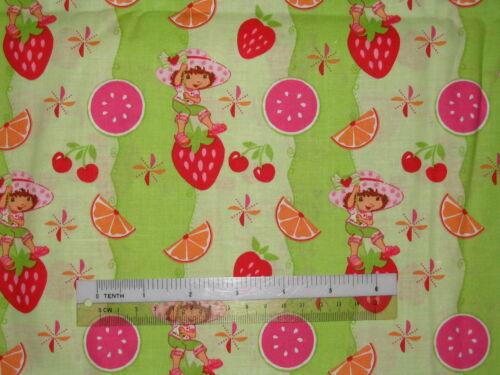 Strawberry Shortcake Girl design cotton quilting fabric *Choose favourite!