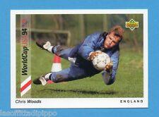 Figurina/CARDS-UPPER DECK 93 -WC USA 94- n.25- WOODS - INGHILTERRA