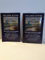 Malibu 2000 Relaxer/straightener Pre & Post Treatment Packs X2 - .17oz/5g