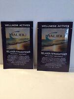 Malibu 2000 Relaxer/straightener Pre & Post Treatment Packs X2 - .17oz/5g