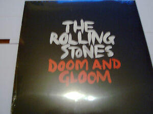 The-Rolling-Stones-Doom-and-Gloom-10-034-VINYL-SINGLE-GRRR-2012-NEW-NEUF-dans-sa-boite