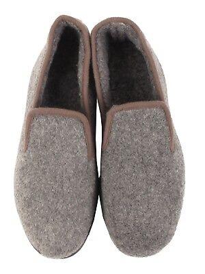 Para Hombre Zapatillas Mocasines Sin Cordones Piel De Lana Forrada De Invierno Cálido Zapatos 7 8 9 10 11 12