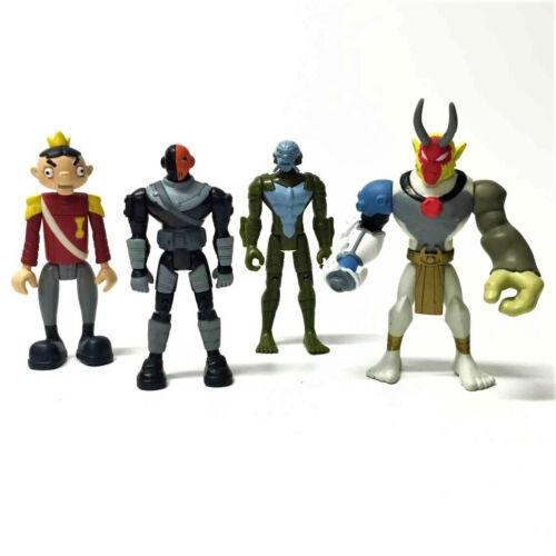 "Lot 4pcs Dc Comics Teen Titans Go Slade Bandai The Puppet King 4/"" toy Xmas gift"