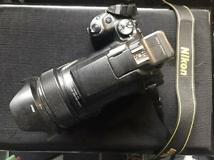 Nikon Coolpix P1000 16MP 125x Wide Angle Digital Camera Bridgekamera