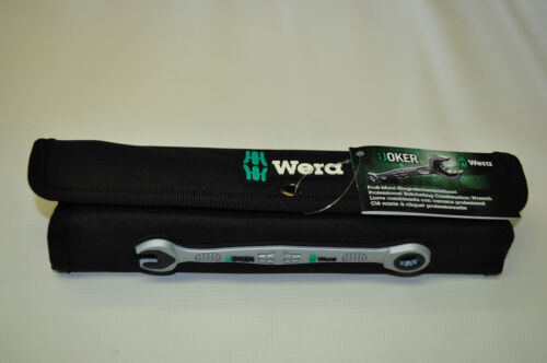 Wera Joker Set 6TLG Ratcheting combination wrenches Double Opend Werench Metric