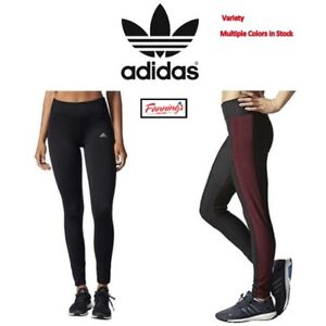 ac06cb00 Details about *NEW* Adidas Performance Womens Climawarm Running Gym Sports  Tight Pants VARIETY