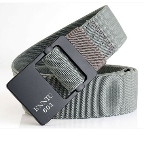 "Mens Causal Elastic Belt 1.5/"" Waistbands Outdoor Sports Straps Heavy Duty Belts"