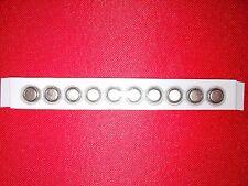 10 PILES BOUTON AG4/LR626/377/LR66/SR626SW/SR66/377A/376 1,55V