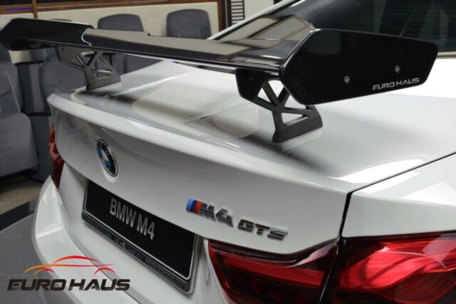 Bmw F82 M4 Coupe Gts Rear Spoiler Carbon Fiber Retrofit Kit For Sale