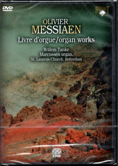 OLIVIER MESSIAEN - LIVRE D'ORGUE / ORGAN WORKS - DVD NUOVO SIGILLATO