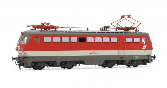 RIVAROSSI elektrolokomotive serie 1046, ÖBB, verkehrsro