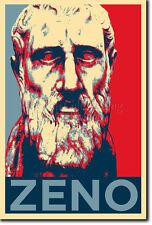 ZENO OF CITIUM ART PHOTO PRINT (OBAMA HOPE PARODY) POSTER GIFT GREEK PHILOSOPHY