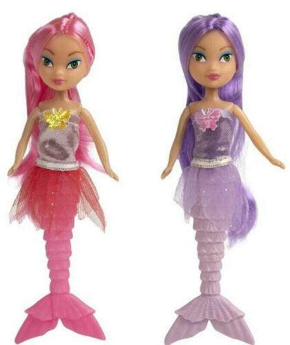 Magical Mermaid Stunning Doll Girl Toy with accessories Shell Comb Dress Up