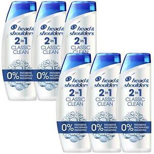 6-Head-amp-Shoulders-Anti-Dandruff-2-In-1-Shampoo-Conditioner-Classic-Clean-225ml