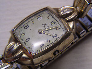 Elgin 17J 533 Running Movement and watch, for parts or Restoration