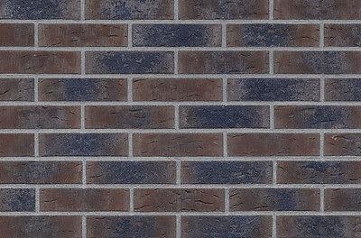 Kreativ Strangpress Klinker-riemchen Nf-format Braun Kohlebrand Riemchen Verblender Ausreichende Versorgung Baustoffe & Holz Klinker