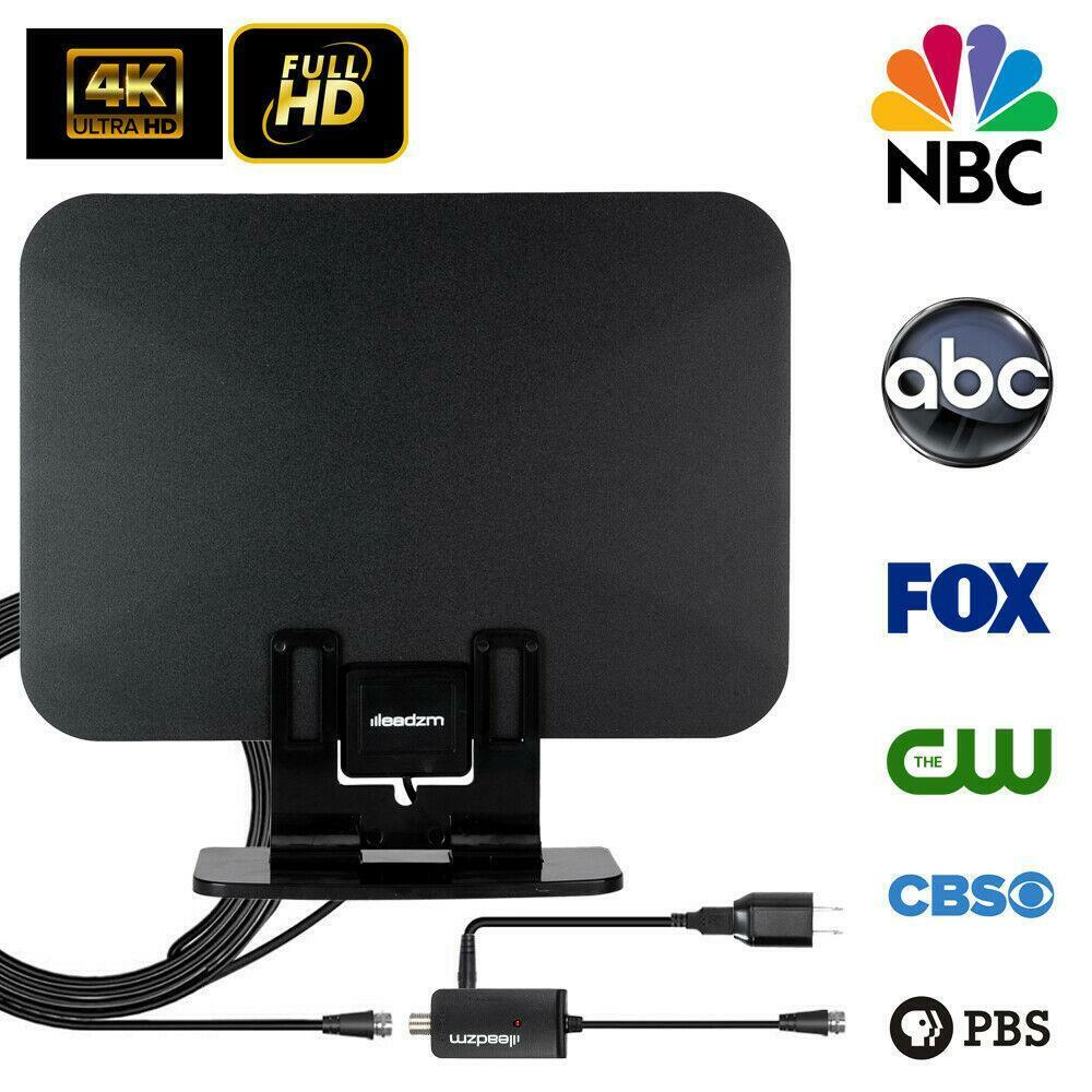 TA-105A gaingame-outlet 150Miles 1080P Indoor Amplified HDTV HD Digital TV Antenna Standing VHF/UHF