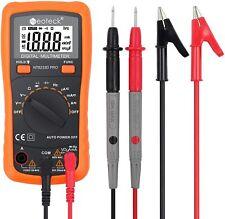 Pro Digital Multimeter Fluke Meter Volt Tester Electric Auto Range Ohm Ac Dc Rms